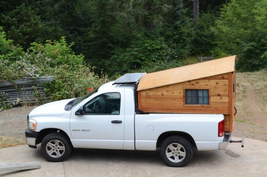 custom dodge ram truck camper. Black Bedroom Furniture Sets. Home Design Ideas