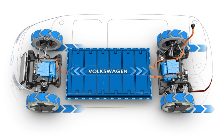 The New Electric Volkswagen Bus ID Buzz EV Microbus