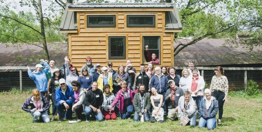 Dan Louche Hands On Tiny House Workshop in Atlanta Georgia 2021 2
