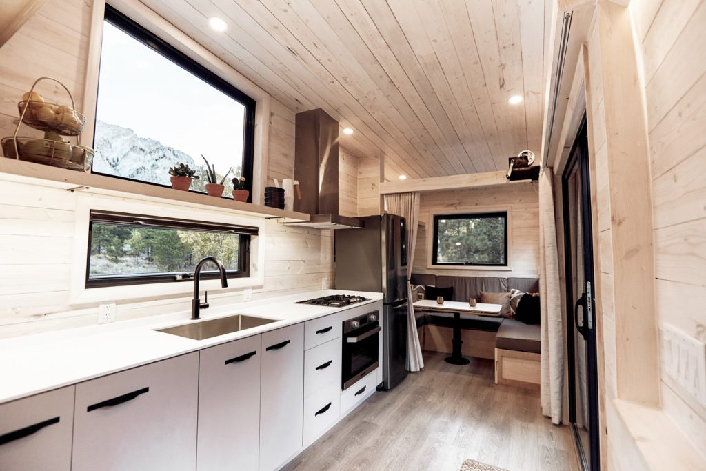The Amazing Draper Tiny House on Wheels by Land Ark RV: The Ultimate Modern THOW?