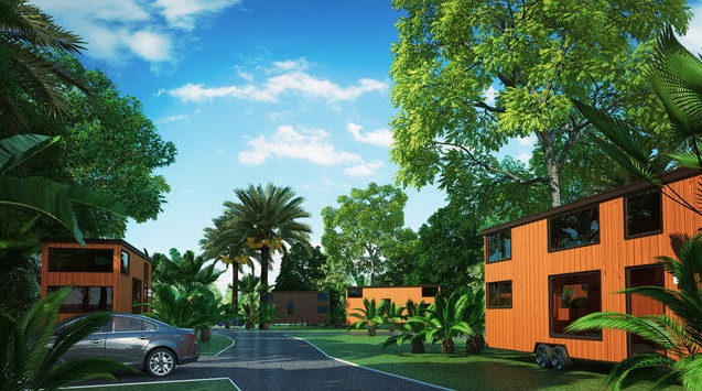 ESCAPE Tampa Bay Village Tiny House Community in Florida