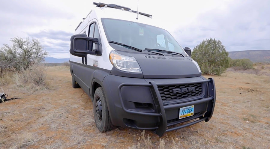 Electrical Turned Travel Writer and His Van 3