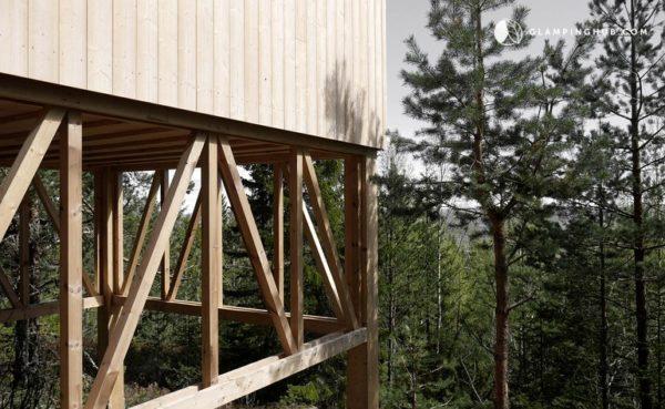 Elevated Zen Cabin Vacation in Sweden 005