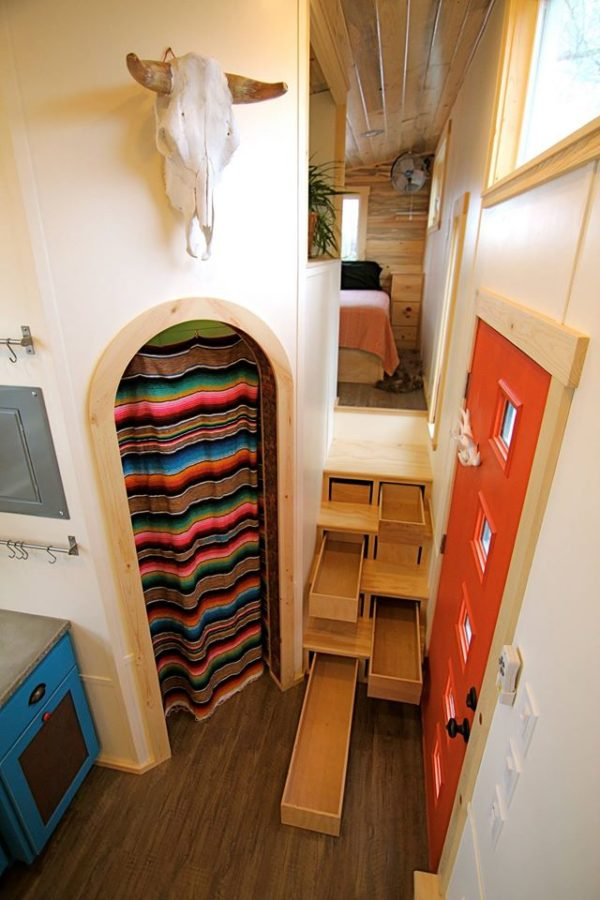 Elise and Clara's Amazing MitchCraft Gooseneck Tiny Home