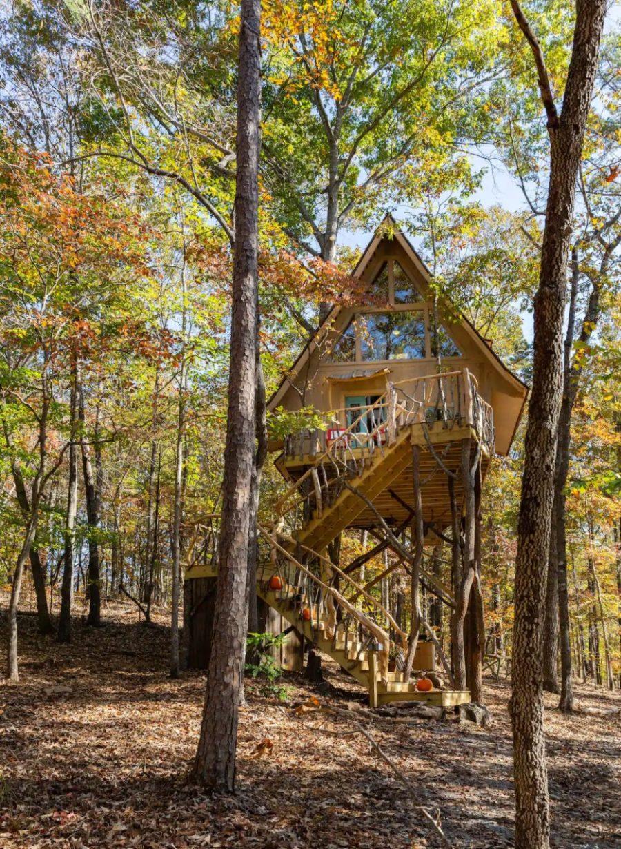 Enchanting Tree-Cabin Dawsonville GA via Debra-Airbnb 0016