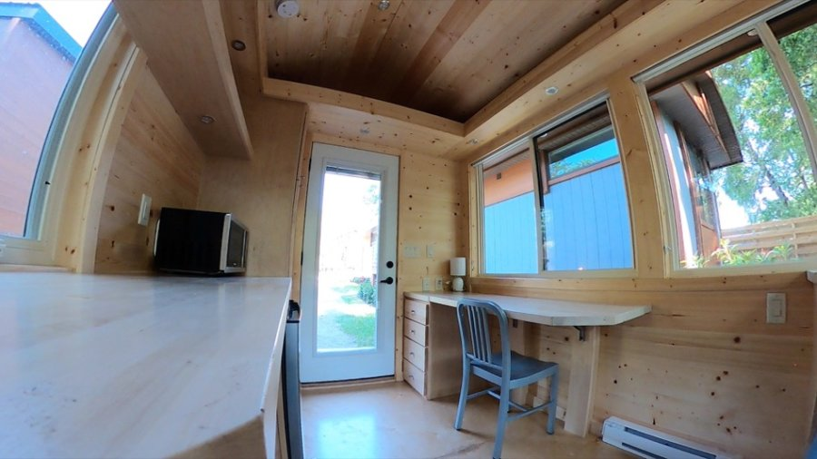 Escape Space Thoreau-like Micro Cabin at Escape Tampa Bay Tiny House Village 006