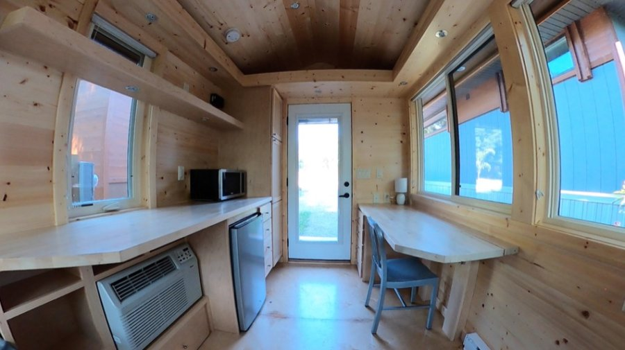 Escape Space Thoreau-like Micro Cabin at Escape Tampa Bay Tiny House Village 008