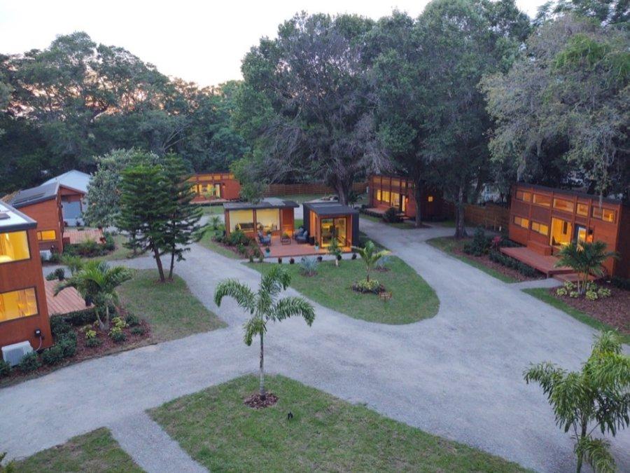 Escape Tampa Bay Tiny House Village 001