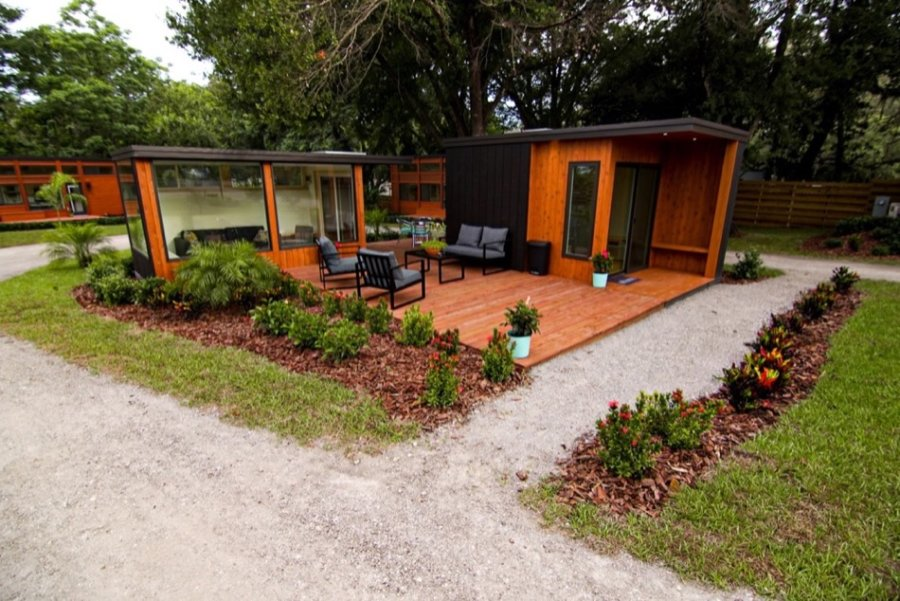 Escape Tampa Bay Tiny House Village 002