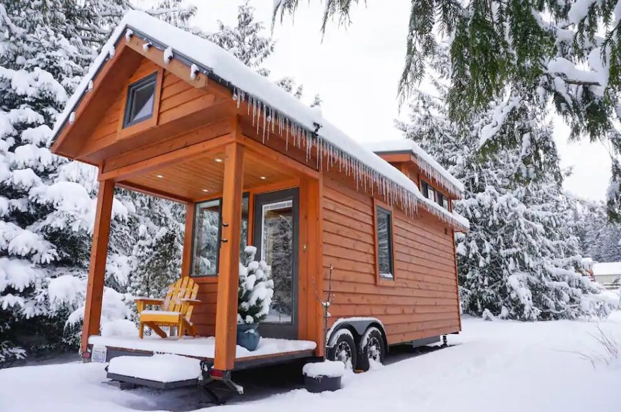 Escape Tradition Tiny House In Olympic Mountains Sequim Washington Pamela-Airbnb 0013