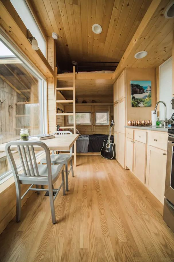 Escape Traveler XL Tiny House Vacation in Vilas NC via Michael and Samantha Airbnb 002