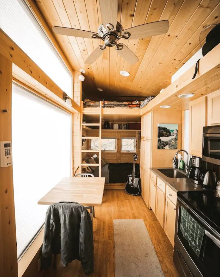 Escape Traveler XL Tiny House Vacation in Vilas NC via Michael and Samantha Airbnb 007