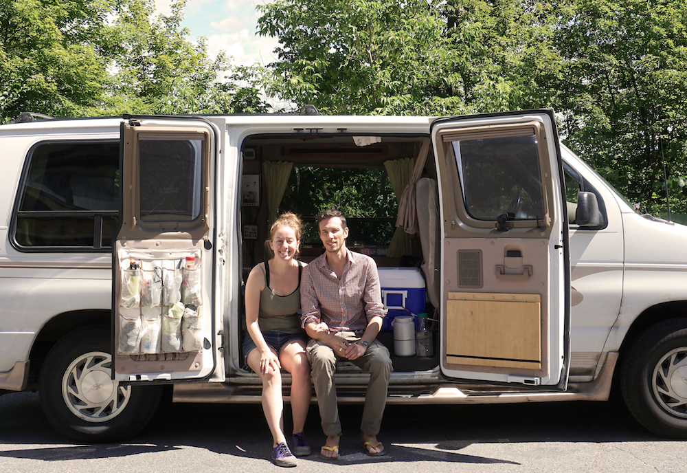 Van Dwelling Couple Sell Everything To Travel Long Term