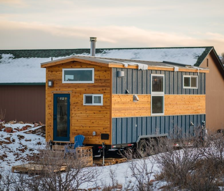 Carrie and Dan's 28′ x 10′ Tiny Home 2
