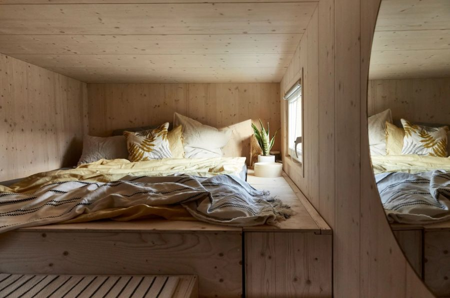 Fabiennes Swiss Tiny House Built With Dad And Loaded With IKEA 006