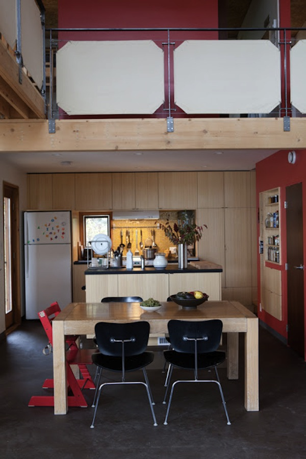 Inside Family Small Cabin Vacation Compound