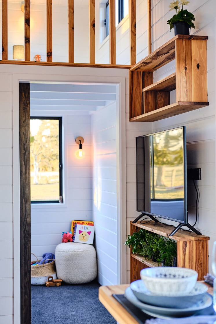 Family Sojourner Tiny House by Hauslein Tiny House Co 0014