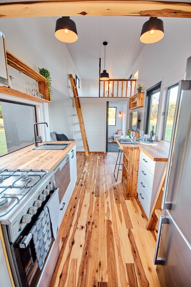 Family Sojourner Tiny House by Hauslein Tiny House Co 004