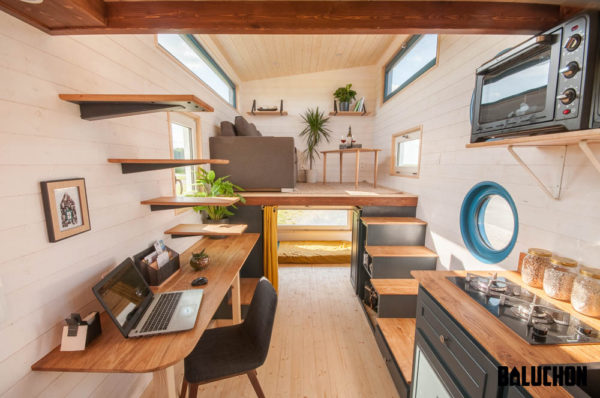 Family Moves into Tiny Home with Newborn Baby