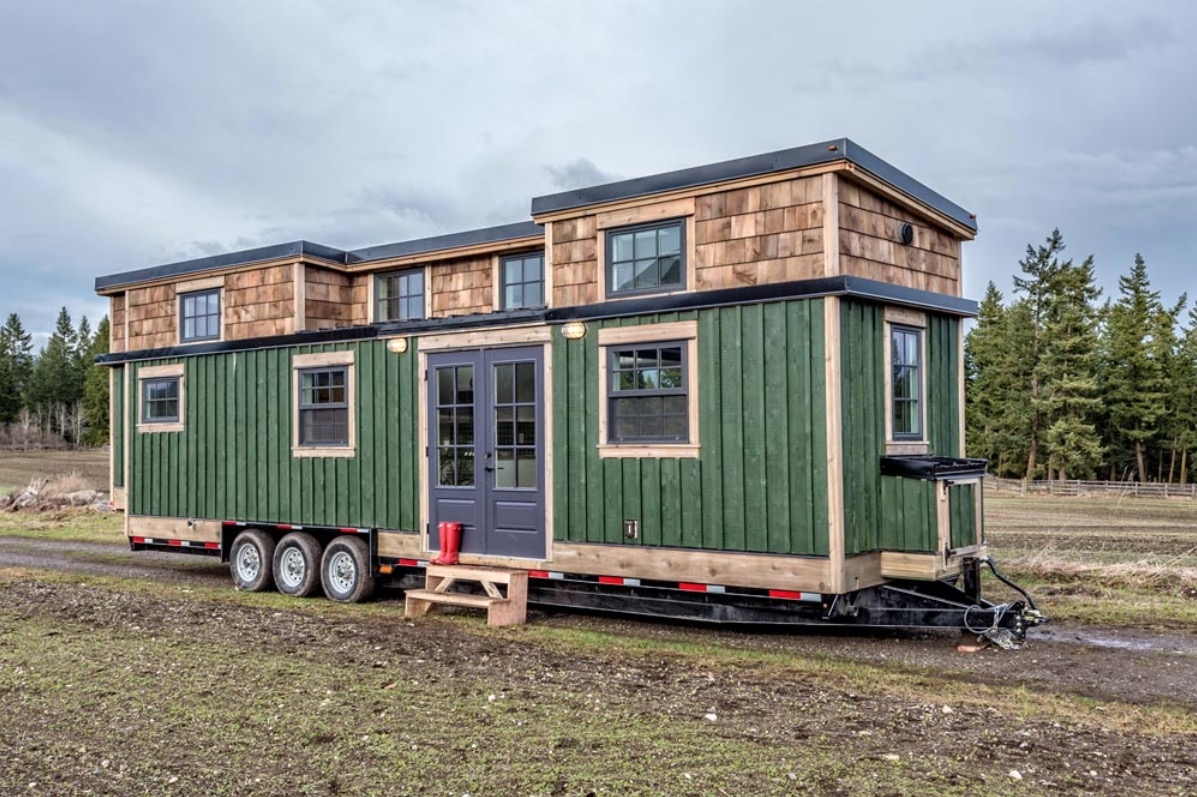 Tiny Home Designs: Family Of Four's 375 Sq. Ft. Tiny Home On Wheels By Summit