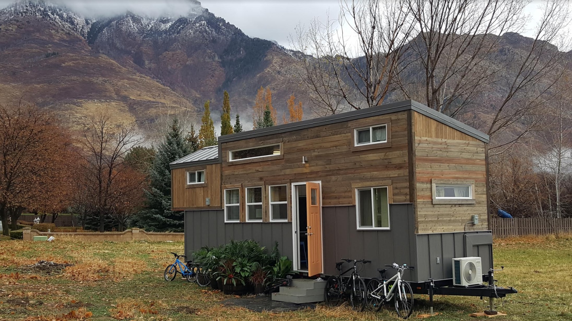 Family Of Four S Double Loft Tiny Home On Wheels