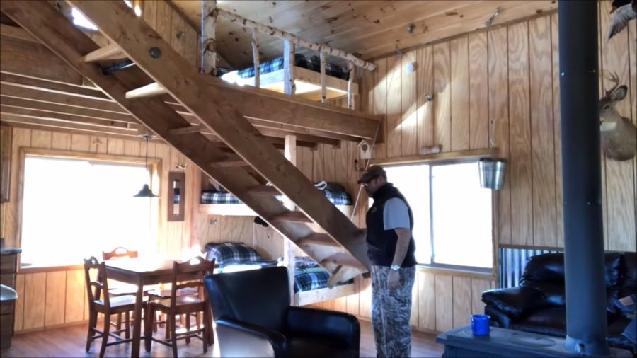 Father and Son Build 15k Tiny Cabin in the Woods via Michigan Backwoods 004