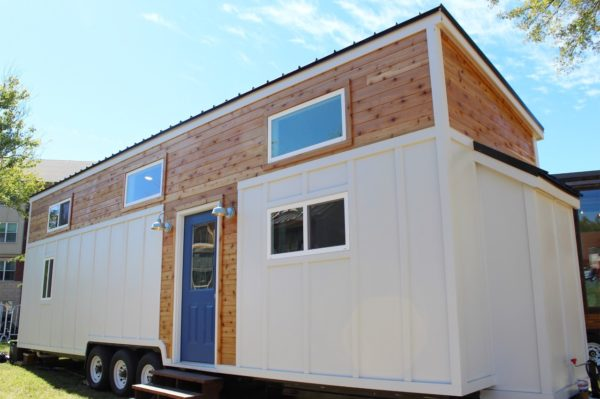 34-Foot Everest Tiny House with a Full-Size Closet!