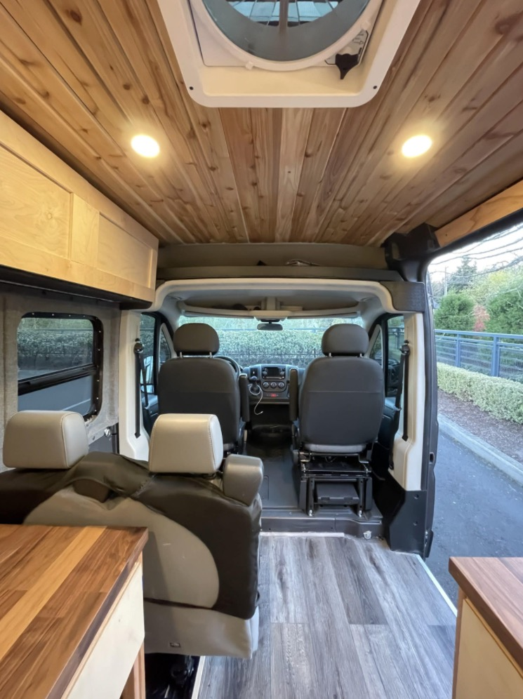 Four-Seater ProMaster Van Conversion by AVB Portland Oregon 002