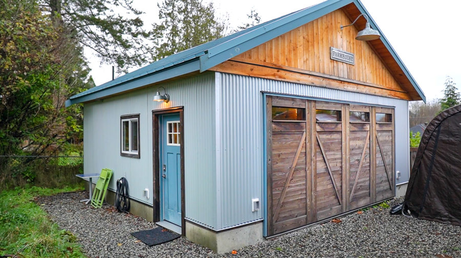 Garage to Tiny Home Conversion 1