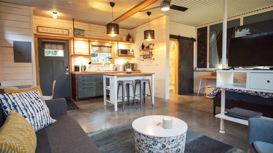 Garage to Tiny Home Conversion 6