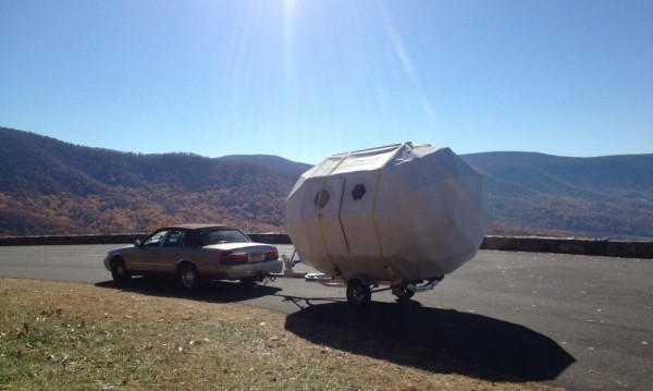 Geo-Dome Life Pod Travel Trailer by Michael Weekes 0016
