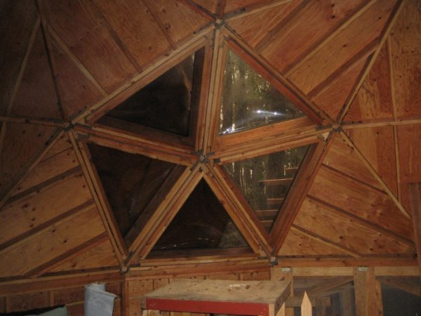 Geodesic Domes at Hostel Forest 004