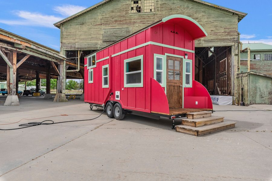 Gypsy style 26' Pioneer Tiny Home 011