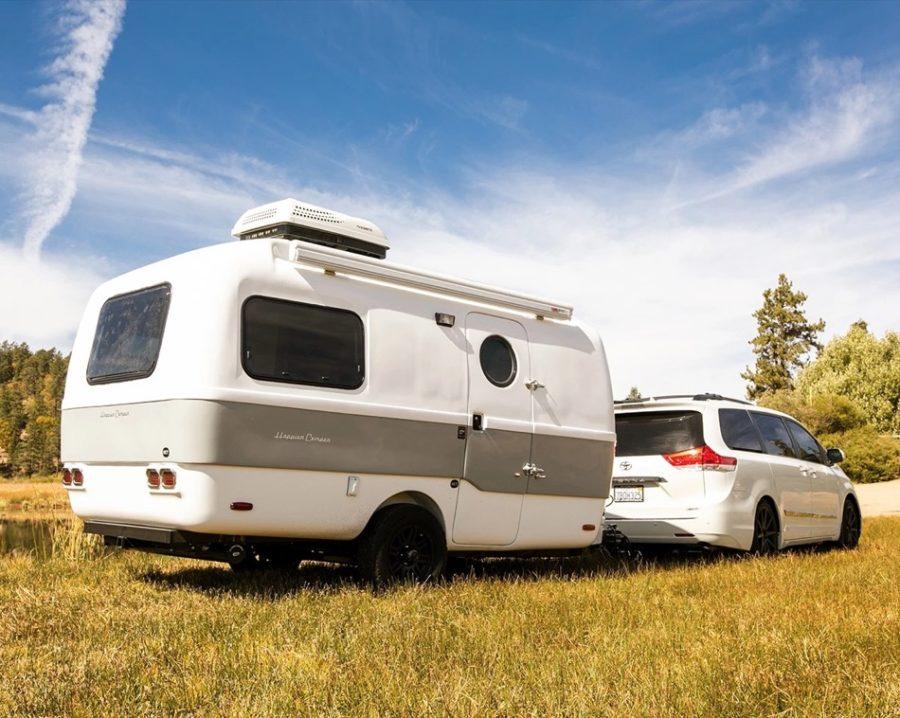 HC2 Retro-Modern Lightweight Fiberglass Travel Trailer by Happier Campers 001