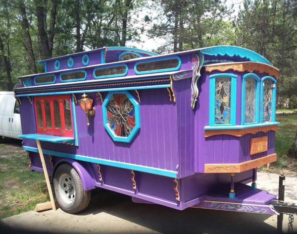 Handmade Gypsy Caravan Tiny House For Sale 0014