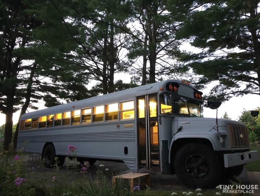Hanks 12k School Bus Conversion For Sale Photo via Hankdb Tiny House Marketplace