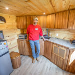 He Used an ATV Winch To Create an Epic Murphy Bed in His Cargo Trailer Camper 2