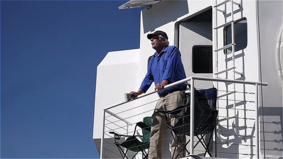 He built a Sci-Fi tiny house that's a replica of the Lunar Lander Image © Tiny House Giant Journey 0012