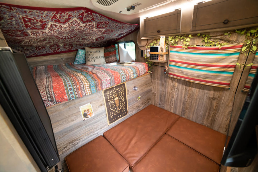 Her Awesome Truck Camper w Shower & Toilet 3