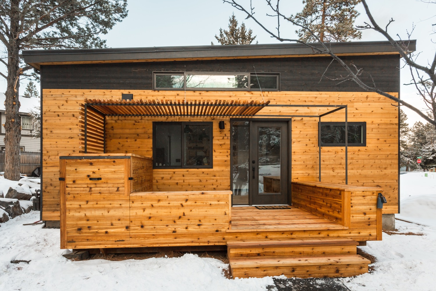 The Incredible Hiatus Tiny House Built for Tiny Cottage Community in Bend, Oregon