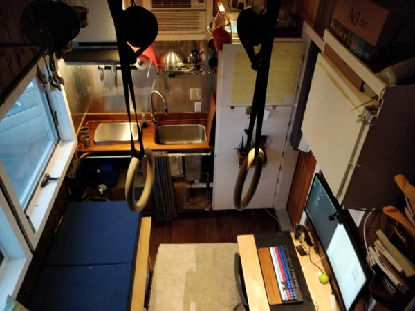 High-Tech and Off-Grid 16-Foot Tiny House