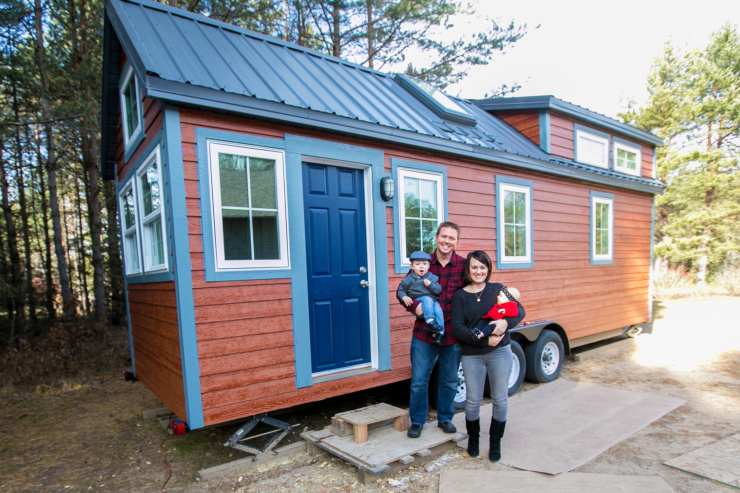 Hogan Tiny House Family: Interview and Tour