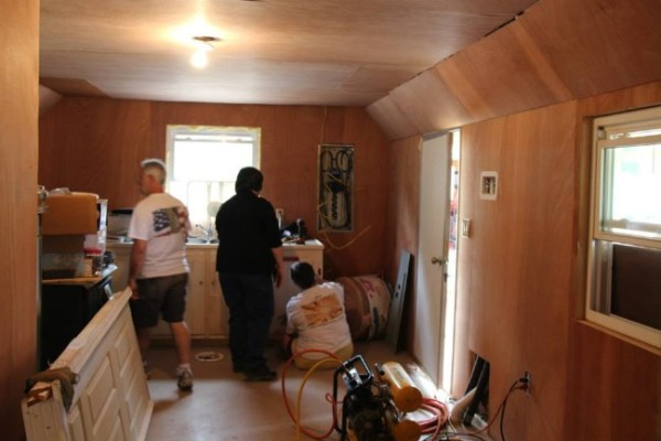 Homeless 83-year-old Widow Gets Tiny Home 010
