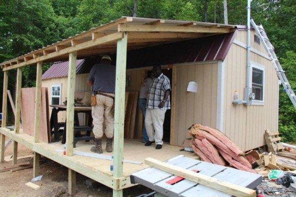 Homeless 83-year-old Widow Gets Tiny Home 04