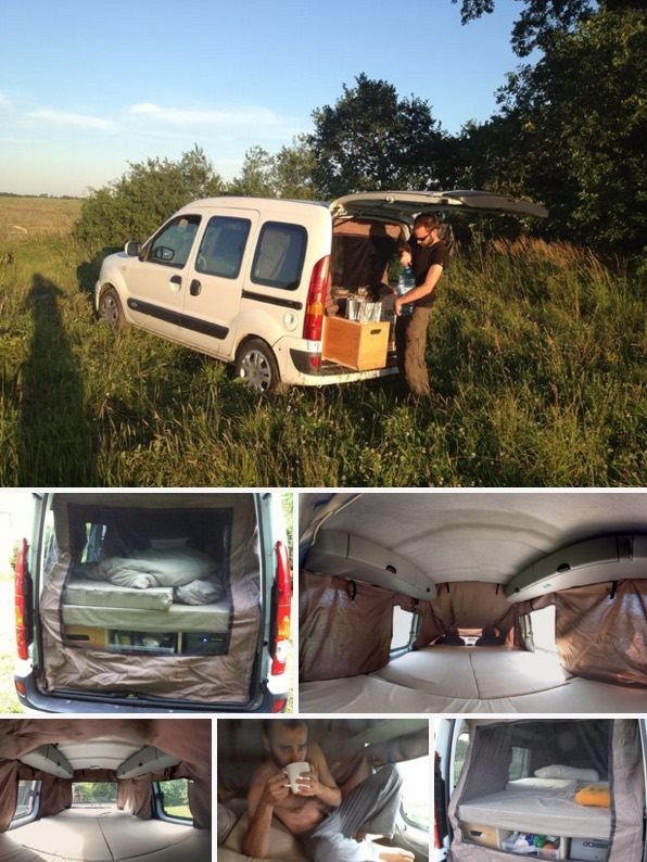 How to Turn Your Van into a DIY Micro Camper 04