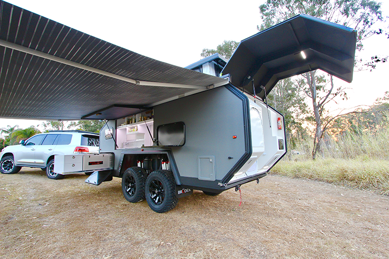 BRUDER EXP-6 EXPEDITION TRAILER