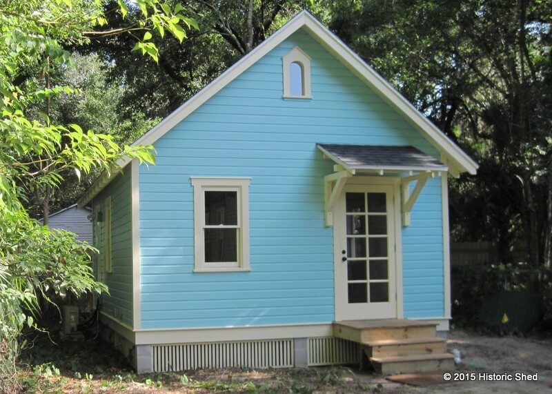 Free Small Cabin Plans Do It Yourself Cabin Plans Cabin: 16x20 Cottage In Gainesville Built By Historic Shed
