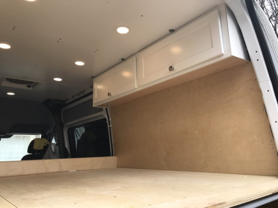 Lindsey's Sprinter van conversion