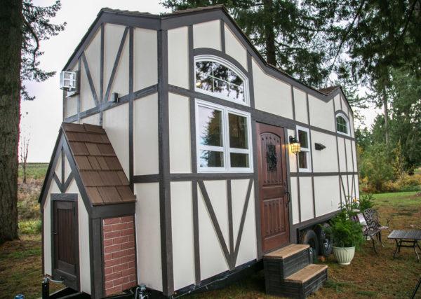 Tudor-style Fairytale Tiny House by Tiny Heirloom