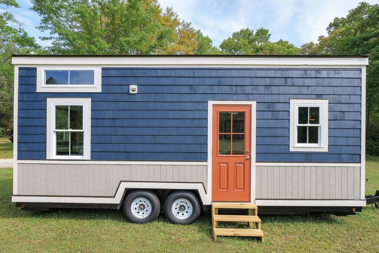 Tiny House Floor Plans Small Cabins Tiny Houses Small: Indigo Tiny House By Driftwood Homes